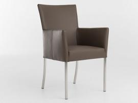 Bert Plantagie stoel type AUDREY in leder Tendens