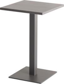 CT3020 Pip lounge tafel vierkant 38x38cm op kolom hoogte 60cm