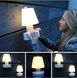 Bloom ! Portable Wall lamp met oplaadbare batterij 28cm