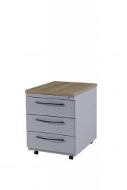 BASIC Verrijdbaar Ladenblok 03 B1504 B1505 afmeting (bxdxh) 44x60x58 cm