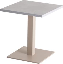CT3010 Pip lounge tafel vierkant 38x38cm op kolom hoogte 42cm