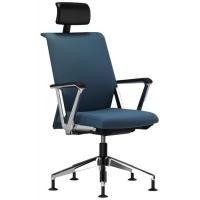 Comforto bezoekersstoel model 5911K met hoofdsteun standaard