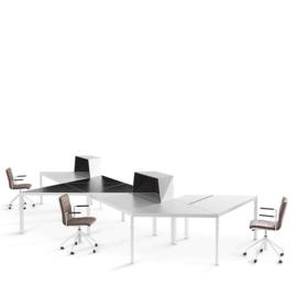 Lande Trigon bureaus en tafels voor iedere opstelling
