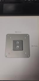Humanscale losse VESA plaat grijs VM28-11