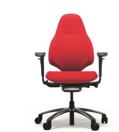 RH Mereo 220 black bureaustoel model 8212 NPR 1813 normering