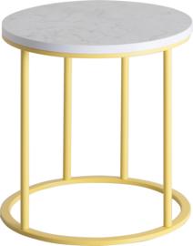 CT2010 Frame lounge tafel rond 38cm, hoogte 42cm