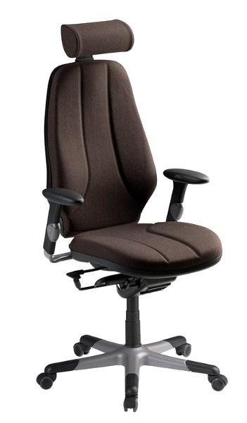 Bureaustoel Met Neksteun.Rh Logic 4 Bureaustoel Hoofdsteun En Luchtlendesteun Model 2004