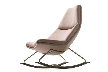 Artifort 500 series fauteuil Rocking Chair met 3 losse kussens