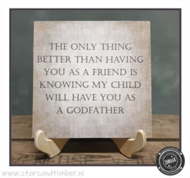 Peetoom vragen, Best Friend as a godfather