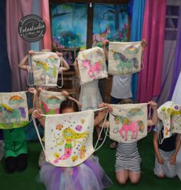 Set 10 stuks, kinderfeest voordeelpakket thema Unicorn