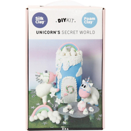 Unicorn knutsel pakket Secret world