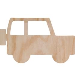 Deco wood auto 29 x 18 cm
