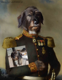 Hond in Uniform