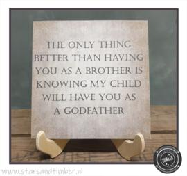 Peetoom vragen, Brother as a godfather