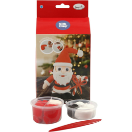 Kerstman knutselpakket van klei