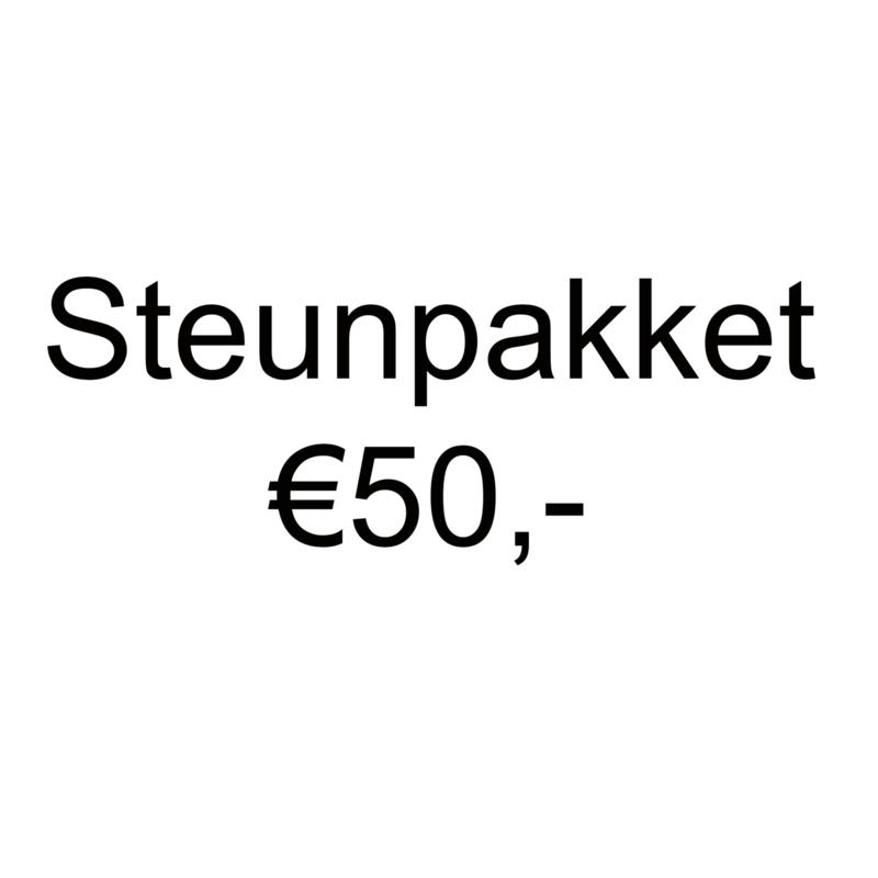 Steunpakket en ontvang €75,- aan (knutsel)spullen
