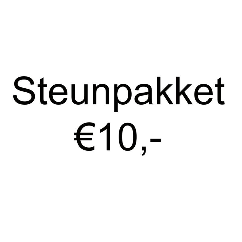 Steunpakket en ontvang €15,- aan (knutsel)spullen