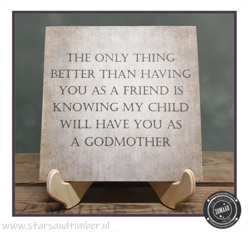 Peettante vragen, Best Friend as a godmother