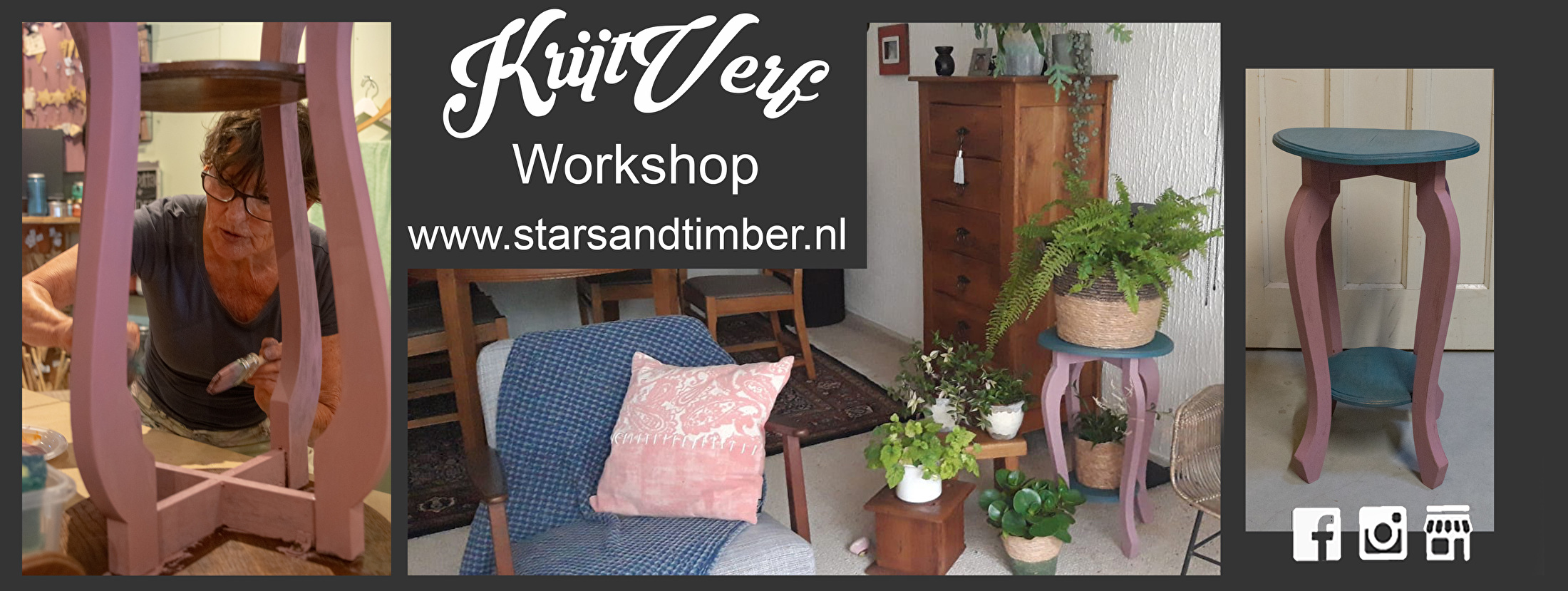 Krijtverf workshop