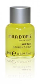 Mila natural Ampoule nourish & calm 1 stuk