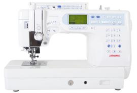 Janome naaimachine halfindustrie met boventranport