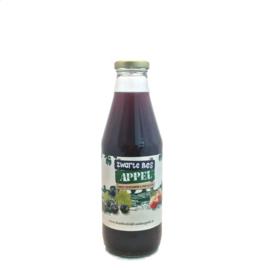Appel-Zwarte Bes verpakt per 0,75 liter