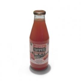 Appel-Aardbei verpakt per 0,75 liter