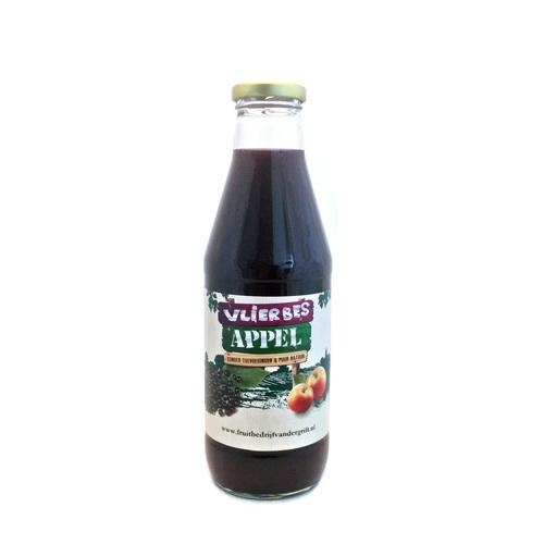 Appel-Vlierbes verpakt per 0,75 liter