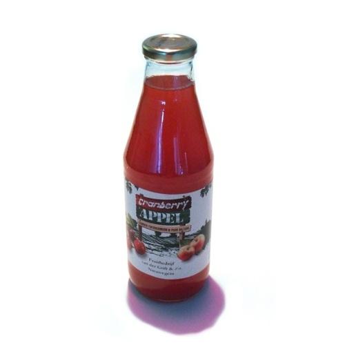 Cranberry-Appel verpakt per 0,75 liter