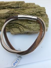 Armband met streepje pels