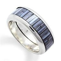"""Ring """" Blue Bamboo"""""""