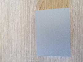 ATC / Pocketletter kaartjes  Zilver glanzend