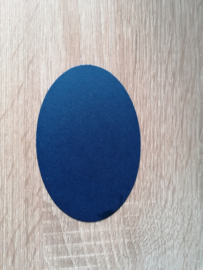Ovale Ausschnitte 220 grms Dunkelblau