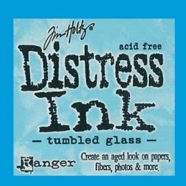 Distress Ink Tumbled Glass