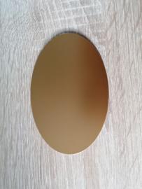 Ovale Ausschnitte 220 grms Gold Glanzend 1 Seite