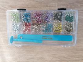 Engeltjes Pen Set mit 12 Beutels Nieten im Luxe Box