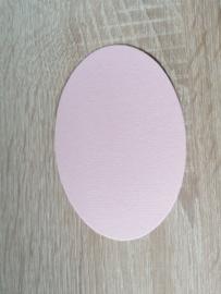 Ovale Ausschnitte 220 grms Weiss