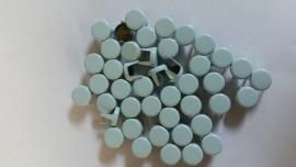 Nür 50 Zierknöpfe Helles Blau 035