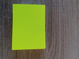 ATC / Pocketletterkarten Neon Gelbe