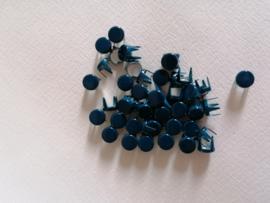 Nür 50 decorative knöpfe Navy Blue 2955