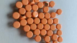 Nür 50 Zierknöpfe Neon Orange 026