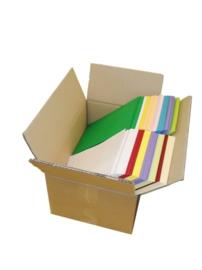 Papier 400 vel  A5  gemengde kleuren