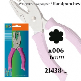 Handpons bloemetje