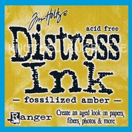 Disstress Ink Fozilized Amber