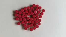 Nür 50  Zierknöpfe Rot/ Red 005