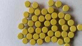 Nür 50 Zierknöpfe Neon Gelbe 029