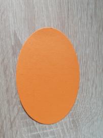 Ovale Ausschnitte 220 grms Orange