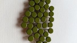 Nür 50 Zierknöpfe Moosgrün 023