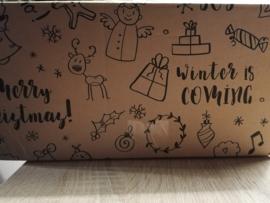 Weihnachtsbox quatratische karten