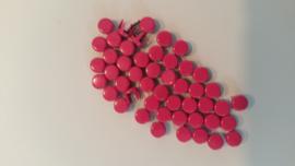 Nür 50  Zierknöpfe Leuchtend Rosa 039